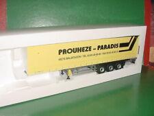REMORQUE TAUTLINER TRANSPORTS PROUHESE - PARADIS 48 1/43 ELIGOR