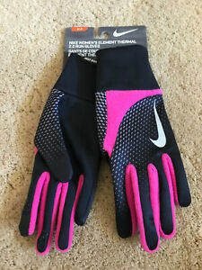 Nike Therma-Fit Dry Element Thermal 2.0 Run Women's Running Gloves NEW Small