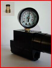 REGOLATORE di pressione calibro prova + porta di prova Seal Kit per weihrauch HW100/101