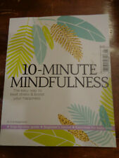 10-MINUTE MINDFULNESS BY EVE BOGGENPOEL MAGAZINE BOOK NEW