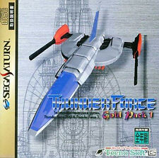 (Used) Sega Saturn Thunder Force Gold Pack 1 [Japan Import]、