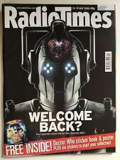 Radio Times Magazine May 2006 Doctor Who Cybermen David Tennant w/ Sticker Book