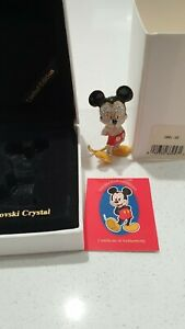 Swarovski  Arribas Mickey Mouse New Boxes and Certificate