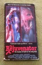 The Rejuvenator VHS Horror Sony Video Tested Rare 1988 Vivian Lanko Collectible
