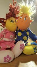 "Tweenies Jake & Fizz 12"" dolls soft toys"