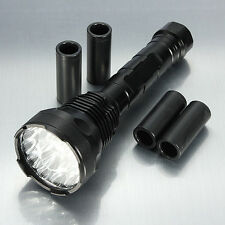 New Military Grade Tactical Flashlight LED XM-L Lumens TC2000 TC1200 X800 Design