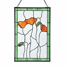 Tiffany Panelen, Scheiben, Panels Poppy - Art Deco Trade