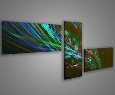 Quadri moderni astratti 180 x 70 stampe su tela canvas con telaio MIX-S_76