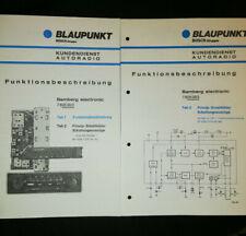Original Funktionsbeschreibung Bamberg Electronic