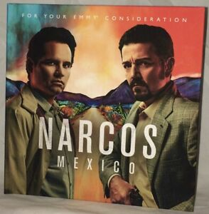 Narcos Mexico Complete Season 1 DVD Disc Set FYC 2019 Emmy Netflix 10 Episodes