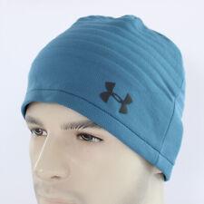 Under Armour Mens Golf Daytona Beanie UA Skull Hat Coldgear Storm Warm Blue