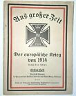 WWI 'In German' Rough Time The European War of 1914 military booklet 64 pages