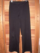 ** BLACK Music Marching Band Long Polyester Pants w/ Side loops Teen Size 14 16