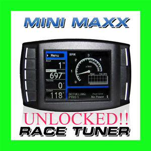 Mini Maxx Race Tuner H&S Programmer Dodge Ford Chevrolet GM Diesel Trucks