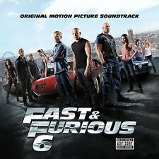FAST & FURIOUS 6 THE ALBUM CD SOUNDTRACK OST (Released 20th May 2013)