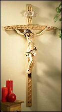 "Val Gardena Wall Crucifix 10"" (PC155) NEW in Box"