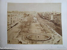 Rare Bonfils & Zangaki Sepia Photograph of Alexandria and Ismalia in Egypt c1870