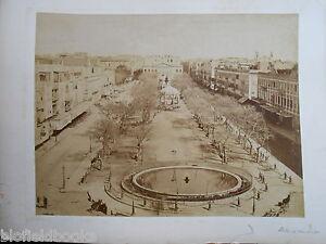 Rare Bonfils & Zangaki Sepia Photograph of Alexandria and Ismalia in Egypt c1870