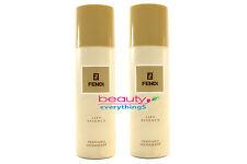 Fendi Life Essence Perfumed Deodorant 2x150ml Brand New For Men Very RARE