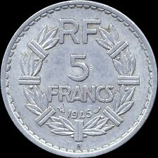 France 5 Franc 1945 1945 1946 1947 1947 & 1948 ~Lot Of 6 Coins~