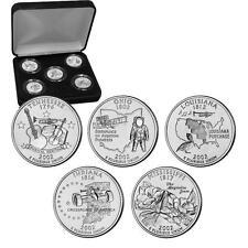 2002 Uncirculated US Mint State Quarters Set in Gift Box - BU Statehood Quarters