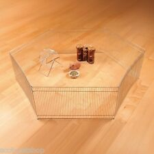 NEW Galvanised 6 Sided Metal Enclosure For Hamsters Mice