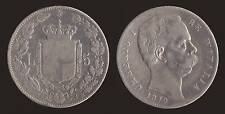5 LIRE 1879 UMBERTO I - ARGENTO SILVER