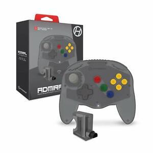 Hyperkin Admiral Premium BT Wireless Controller for N64 Nintendo 64 -Space Black