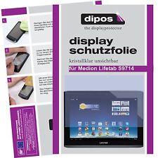 2x Medion Lifetab S9714 Schutzfolie klar Displayschutzfolie Folie Passgenau