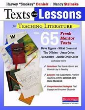 TEXTS AND LESSONS FOR TEACHING LITERATURE - NEW PAPERBACK BOOK