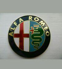 2x Alfa Romeo 147 156 159 Brera Mito Insignia Emblema Clásico Giulietta parte delantera + posterior