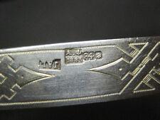 Messer 1883 Silber 84 Russland Kennung für 875er Silber. Historisch