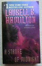 A Stroke of Midnight (Merry Gentry #4) by Laurell K. Hamilton PB 1st Ballantine