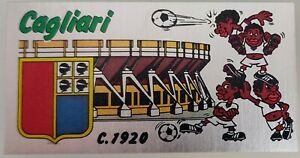 Figurina Sticker Calciatori Panini 1974 75 N 63 Badge scudetto CAGLIARI - NEW