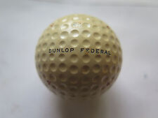 DUNLOP FEDERAL AUSTRALIA No 4 GOLF BALL c1940s to 1950s NEW NEVER USED