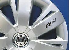 6x R line VW Volkswagen Aufkleber für Räder Emblem Logo Schwarz