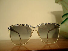"VINTAGE 1980's RARE ""OSMA"" Sunglasses for Women, Made in ITALY,  RARE MODEL"