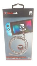 Blackweb 6 ft. Nintendo switch extension cable New in box!