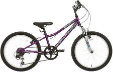 "Apollo Zest Unisex Kids MTB Mountain Bike 20"" Wheel Steel Frame Front Suspension"