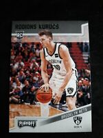 Rodions Kurucs 2018-19 Panini Chronicles #194 Playoff Green Rookie Parallel RC