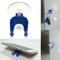 Multifunction Home Plastic Suction Cup Rack Stand Holder Hook for Phone Keys