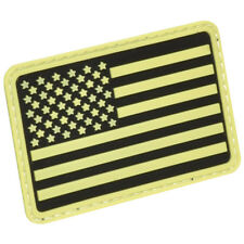 Hazard 4 Usa Vlag Links Arm Moreel Patch Rubber 3D Sterren Glow In The Da