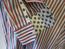 "Paul Smith RED WHITE & BLUE Slim Fit Shirt ""LONDON"" 17"" Eu43 RRP £159"