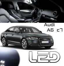 AUDI A6 C7 Pack 13 Ampoules LED Blanc Boite gants Sols Pieds Coffre plafonnier