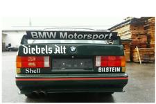 BMW E36 E30 E34  BMW MOTORSPORT GT CLASS 2 Spoiler LTW Decal S50 328 318is 325