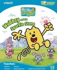 Vtech Bugsby Reading System Wow Wow Wubbzy and the Sparkle Stone- New!