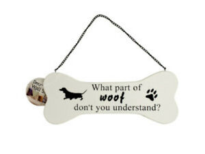 Dog Bone Wall Sign