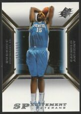2005-06 SPX SPXCITEMENT VETERANS #XCV7 CARMELO ANTHONY   /999