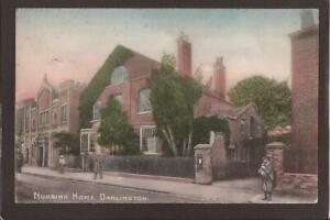 DURHAM-DARLINGTON-NURSING HOME. Brittain & Wright. Darlington 1904.
