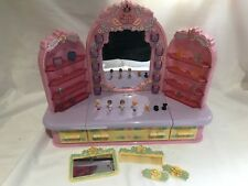 polly pocket 1990 Pyjama Party Dressing Table  100% complete ULTRA RARE